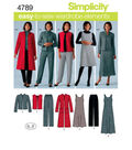 Simplicity Pattern 4789BB 20W - 28W -Simplicity Misses