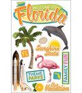 Paper House 3-D Sticker-Florida
