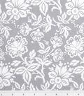 Keepsake Calico™ Cotton Fabric 43\u0022-Kimberly Small Floral Gray