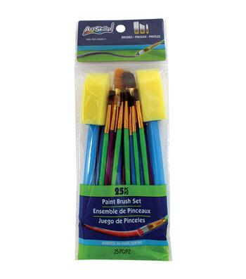 Artskills® 25pcs Paint Brush Set