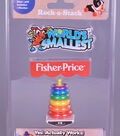 Worlds Smallest Fisher Price Rock Stack