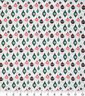 Christmas Cotton Fabric 43\u0022-Mini Hanging Ornaments