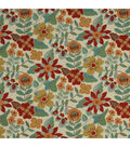 Home Decor 8\u0022x8\u0022 Fabric Swatch-Garden Toss Bk / Poppy