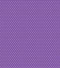 Basics Patterned Cardstock 12\u0022X12\u0022-Purple Small Dot