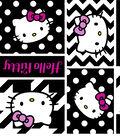 Hello Kitty® Cotton Fabric 43\u0027\u0027-Geometric Face Patch