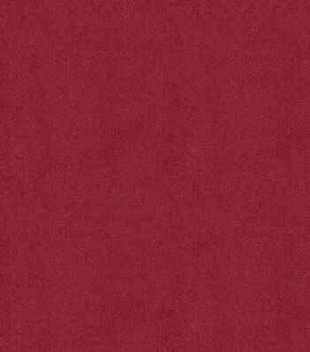 "Signature Series Solid Faux Suede Fabric 58""-Wine"
