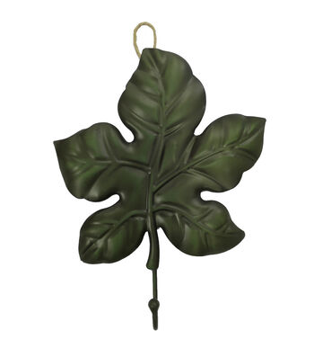Art of Autumn 11'' Leaf Hook-Green