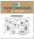 Paper Smooches Dies-Cat Dog Card