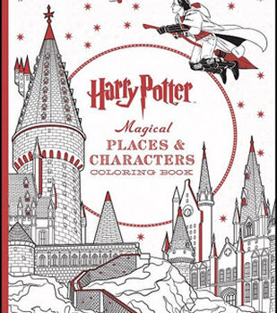 Harry PotterTM Magical Places Characters Coloring Book