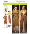 Simplicity Pattern 3688AA 10 12 14 1-Simplicity Misses