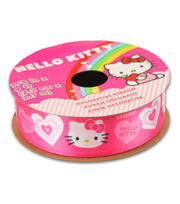 Hello Kitty® Valentines Ribbon-Pink Solid Heart, , hi-res