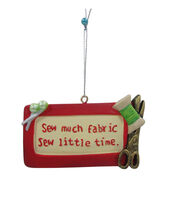 Maker's Holiday Christmas Ornament-Sew Much Fabric Sew Little Time, , hi-res