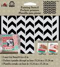 FolkArt® Painting Stencils - Small - Petite Chevron