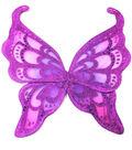 Maker\u0027s Halloween Children\u0027s Fuchsia With Purple Glitter Wings