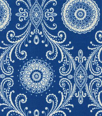 P/K Lifestyles Outdoor Fabric-Reflective Indigo