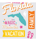 Snapshots Word Stickers-Florida