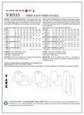 Mccall Pattern V8935 16-18-20-2-Vogue Pattern