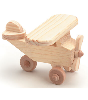 AIRPLANE -WOOD TOY