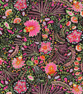 Dena Home Upholstery Fabric 54\u0022-Tranquil Times Licorice