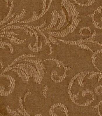 "Signature Series Solid Jacquard Fabric 54""-Bronze"
