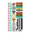 Kaisercraft Game On! Football Cardstock Stickers