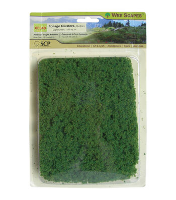 Fairy Garden Wee Scapes Foliage Cluster Light Green Bush