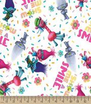 Trolls Show Me A Smile Print Fabric, , hi-res