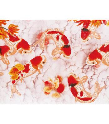 """Diamond Embroidery Facet Art Kit 63""""X29.5""""-Coy Carp"""
