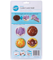 Wilton® Cookie & Candy Mold-Animals, , hi-res