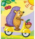 RIOLIS Stamped Cross Stitch Kit 6\u0022X7\u0022-Hedgehog