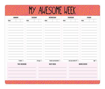 Creative U Awesome Week Mousepad