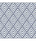 WallPops® NuWallpaper™ Deep Blue Arrowhead Peel  & Stick Wallpaper