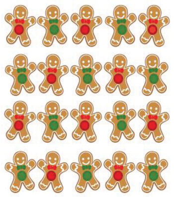 Jolee's Boutique Dimensional Stickers-Gingerbread Repeats