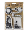 Prima Marketing Finnabair Cling Stamps-Never Too Late