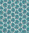 Quilter\u0027s Showcase™ Cotton Fabric 44\u0022-Grape Gray Floral Burst