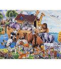 Novelty Cotton Fabric Panel 44\u0022-Noah\u0027s Ark