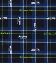 Nfl Seattle Seahawks Plaid Flnl, , hi-res