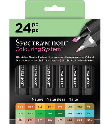 Spectrum Noir Alcohol Markers-Nature