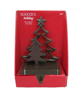 Maker's Holiday Christmas Tree Stocking Holder-Bronze