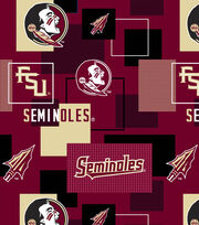 "Florida State University Seminoles Cotton Fabric 43""-New Block, , hi-res"