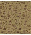 Giacamo Light Brown Jacobean Trail Wallpaper