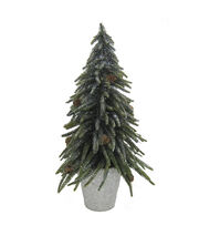 Blooming Holiday Large Tree Glitter-Green, , hi-res