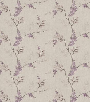 "Eaton Square Print Fabric 51""-Rosehips/Lilac"