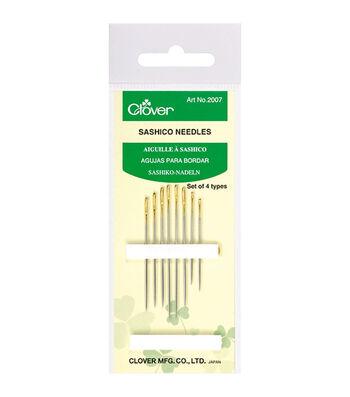 Clover® Sashico 8ct Needles-Assorted Sizes