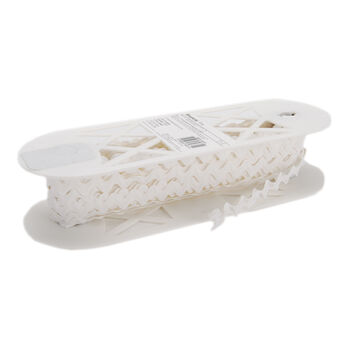 "Polyester Rick Rack 1/2"" Wide 15 Yards-White"