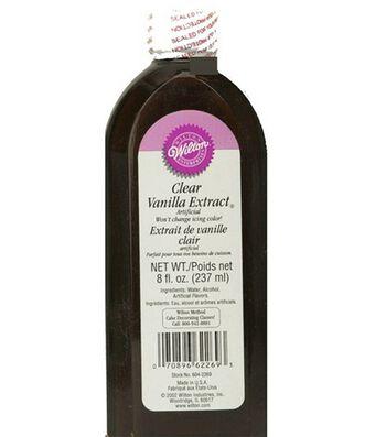 Wilton Clear Vanilla 8 Oz Bottle