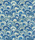 Williamsburg Multi-Purpose Decor Fabric 54\u0022-Murray Marble/Bluebell