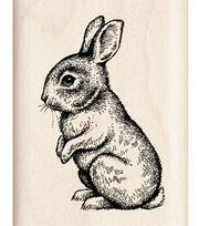 Inkadinkado® Rubber Stamp-Baby Bunny, , hi-res