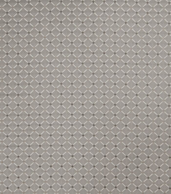 "Jaclyn Smith Upholstery Fabric 54""-Forward Rot/ Dove Gray"