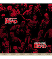 "The Walking Dead Fleece Fabric 59""-We're Back, , hi-res"